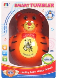 Fab N Funky Smart Tumbler Toy - Tiger