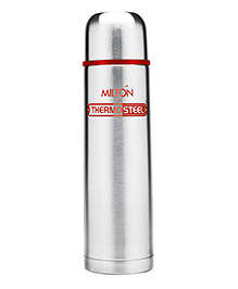 Milton Thermosteel Flask Red Silver - 1000 Ml