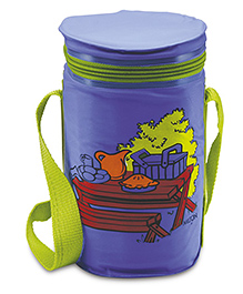 Milton Trenz 4 Container Lunch Box Set - Purple