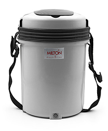 Milton Electron 4 Container Lunch Box Set - Grey