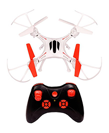 Emob 4 Channel Quadcopter Headless Mode 2.4ghz Gyro Drone - White Black