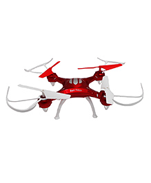 Emob 4 Channel Quadcopter Headless Mode 2.4ghz Gyro Drone - White Red