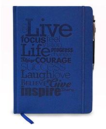 Tiara Diaries Designer Designer De Moda Do Live B5 Size Notebook - 224 Pages