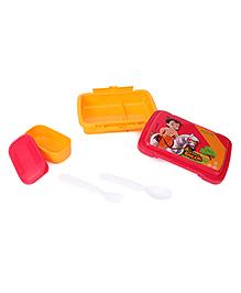 Chhota Bheem Lunch Box Printed - Red Yellow