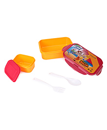 Chhota Bheem Lunch Box Summer Surf Print - Yellow Red