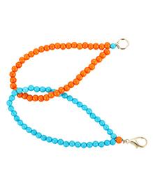 Funkrafts Beads Bracelet - Blue & Orange