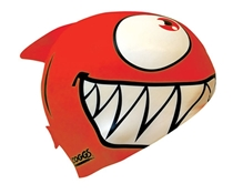 Zoggs Junior Character Silicon Cap - Red