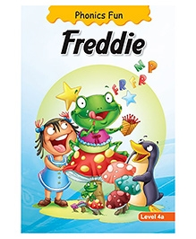 Phonics Fun Freddie Level 4A - English