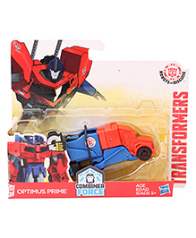 Transformers Rid One Step Changer Optimus Prime Figure - Blue & Red