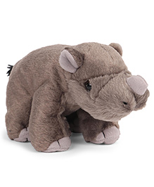 Wild Republic CK Mini Rhino Baby Soft Toy Light Brown - 20 Cm