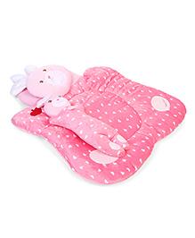 Baby Bedding Set Bunny Design Set Of 3 - Pink