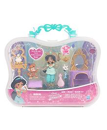 Disney Princess Jasmine Little Kingdom Doll With Furniture - Multicolor