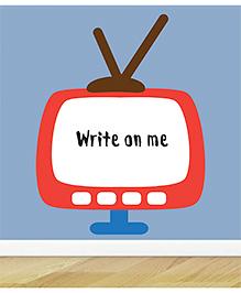 Little Jamun TV Wall Sticker - Blue