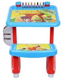 Fab N Funky Multiple Activity Desk - Blue