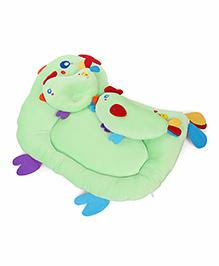 Baby Bedding Set Bird Design Set Of 3 - Green