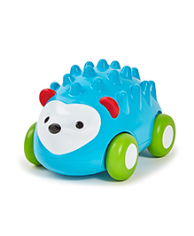 Skip Hop Explore And More Pull And Go Toy Hedgehog Car - Blue Green