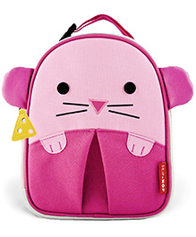 Skip Hop Insulated Lunch Bag Mouse Design - Pink