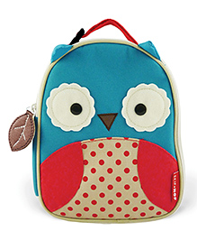 Skip Hop Insulated Lunch Bag Otis Owl - Blue & Red