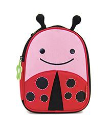 Skip Hop Insulated Lunch Bag Livie Ladybug Design - Pink