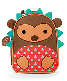 Skiphop Zoo Insulated Lunch Bag Hudson Hedgehog  Design - Multi Color