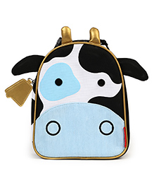 Skiphop Zoo Insulated Lunch Bag Cheddar Cow Design - Blue