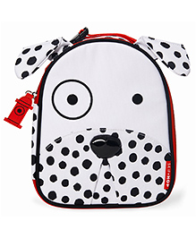 Skiphop Zoo Insulated Lunch Bag Dalmatian Design - White Black