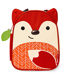Skiphop Zoo Insulated Lunch Bag Fox Design - Red