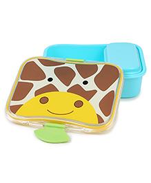Skip Hop Mealtime Lunch Kit Feeding Set Giraffe Print - Multicolor