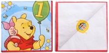 Winnie The Pooh - Lunch Napkins Printed