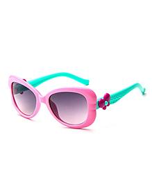 Priaansha Creations Designer Sunglass - Pink & Green