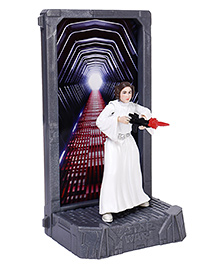 Star Wars The Black Series Princess Leia Organa Die Cast Action Figure - Height 9.5 Cm