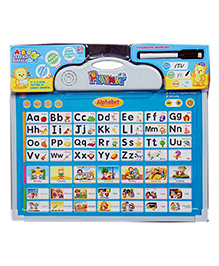 Emob 2 In 1 Playmat Kids Educational Learning Pad With Rewritable White-Board