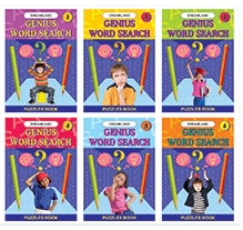 Dreamland Genius Word Search - Pack of 6 Titles