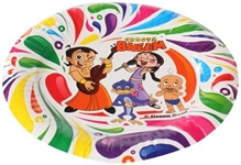 Chhota Bheem - Colorful Paper Plates