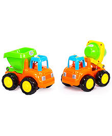Toyhouse Mixer Truck And Dumper - Multi Color