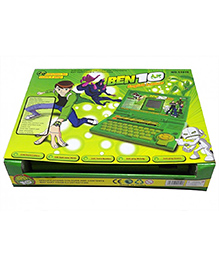 Emob Educational English Learner Activities & Game Laptop With Mouse - Green