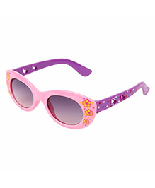 Miss Diva Double Flower Smart Sunglasses - Pink & Purple