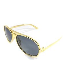 Miss Diva Dashing Aviator Sunglasses - Golden