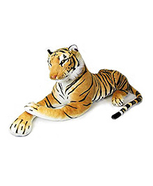Deals India Giant Stuffed Tiger Animal Soft Toy Brown - 47 Cm