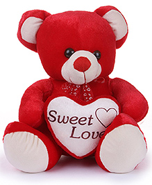 Deals India Molly Red Bear - 45 Cm