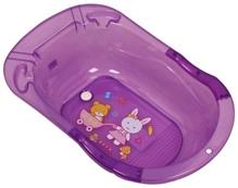 Baby Bath Tub - Teddy With Trolley Print