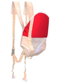 Fab N Funky - Red & Cream Baby Carrier