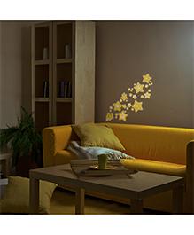 Decofun Glow In Dark Wall Sticker - Yellow