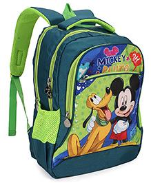 Disney Mickey Mouse & Friends School Bag Blue - 18 inch