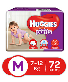 Huggies Wonder Pants Medium Size Pant Style Diapers - 72 Pieces