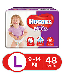 Huggies Wonder Pants Large Size Pant Style Diapers - 48 Pieces