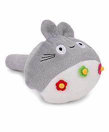 Musical Hammer Soft Toy Animal face Grey - Length 23 cm Image