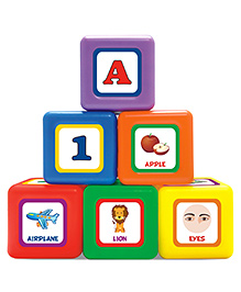 Littles 6 in 1 Jumbo Blocks Play And Learn Toy