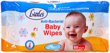 Little's Anti-Bacterial Baby Wipes 80 Pieces