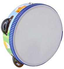 Sevi Wooden Tambourine Blue